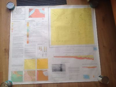 DEVIL'S HOLE British Geological Survey Map 1:250000 UTM Series Flat
