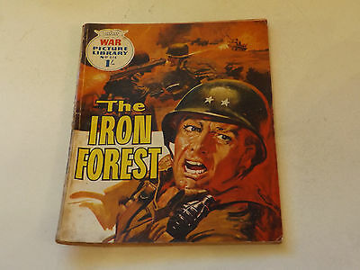 WAR PICTURE LIBRARY NO 414!,dated 1967!,GOOD for age,great 50!YEAR OLD issue.