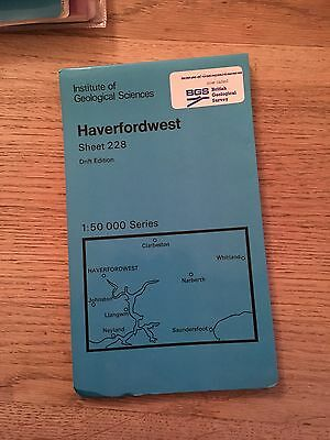 HAVERFORDWEST INSTITUTE of GEOLOGICAL SCIENCES Map Sheet 228