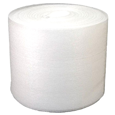 "12"" x 50' Foam Wrap Roll Protect Glasses Fragile Shipping Moving Packing Office"