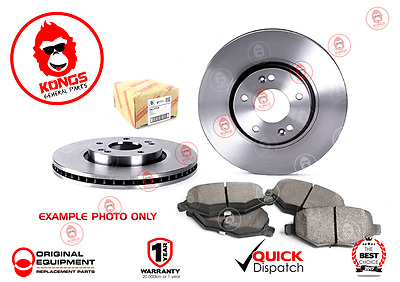 """Rear Brake Pad + Disc Rotors Pack for FORD FALCON XB XC WITH 9"""" DIFF"""