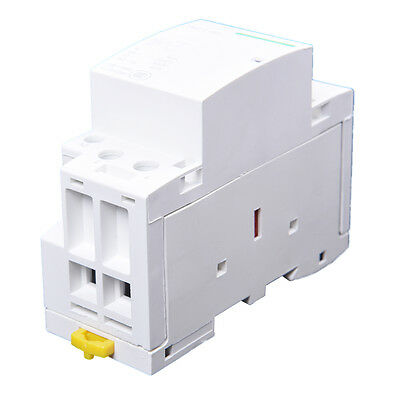 220-240V AC coil 35mm DIN rail support 2 poles 40A contactor S5Y8