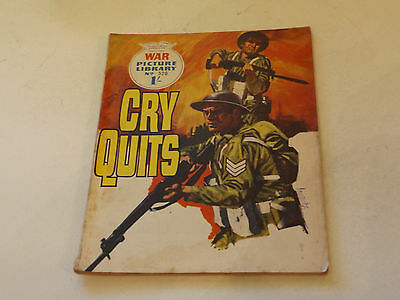 WAR PICTURE LIBRARY NO 520!,dated 1969!,GOOD for age,great 48!YEAR OLD issue.