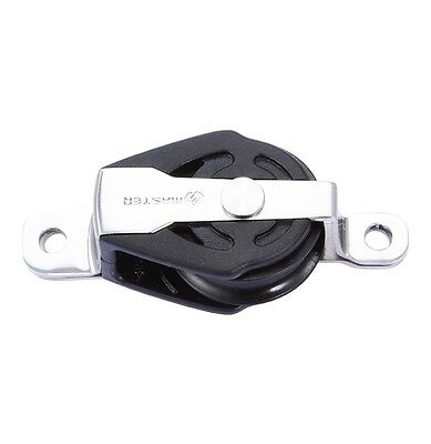 29mm Deluxe Cheek Block - SPS-2909 - SS sheave for wire rope