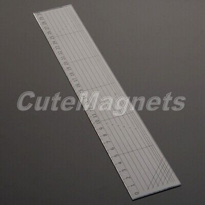 30*5cm Quilting Sewing Patchwork Ruler Grid Cutting Edge Tailor Scale Craft Tool