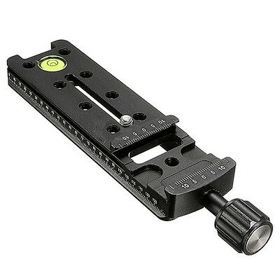 140MM Nodal Rail Slide Quick Release QR Clamp For Macro Panoramic Arca Swis F4H3