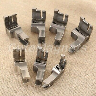 RIGHT & WIDE Presser Foot CR 7 Sizes For Industrial Sewing Machine Brother Juki