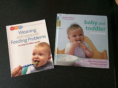 Baby And Toddler Cookbooks Bundle