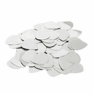 20/24/100pcs Acoustic Stainless Steel Electric Guitar Bass Picks Plectrums