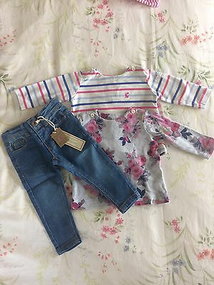 Joules 3-6 Months Bundle Jeans And Tops