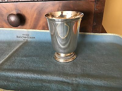 Christofle Vintage French Paris solid Sterling Silver cup tumbler