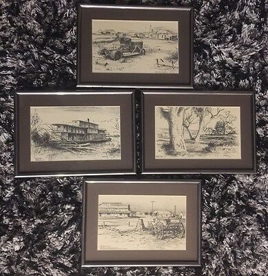 Kenneth Jack Pen And Ink Wash Art Please Choose $34.99 Each Plus $8.00 Postage