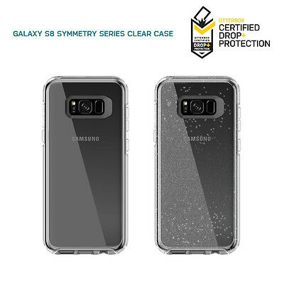 Otterbox Symmetry Clear , Stardust Glitter Samsung Galaxy S8+ S8 Plus Case Cover