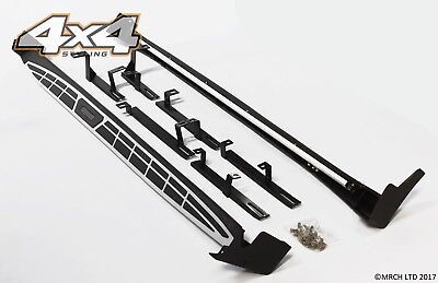 For Kia Sportage 2016+ Side Steps Running Boards Set - Type A