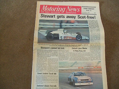 Motoring News 8 March 1973 South African GP Maxi HL Chesterfield 100 Tasamn
