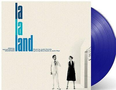 La La Land Original Movie Soundtrack Blue Vinyl Lp Sealed Gosling / Stone