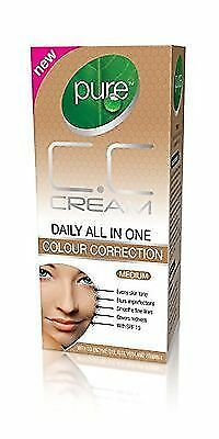 NEW! Pure C.C Cream Daily All In One Colour Correction *Medium* 30 ml