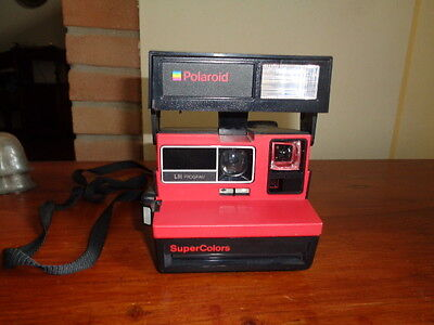 Vintage Polaroid Supercolors 600 Made In England