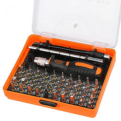 Voilamart 53-in-1 Precision Screwdriver Set with 49 Bits, Magnetic Driver Kit E