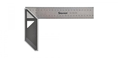 Starrett Try Square Marking Measuring Angles Woodworking Layout Tool Accurate