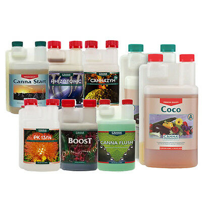 Canna Coco Small Grow Pack - Base Nutrients & all Additives needed - Hydroponics