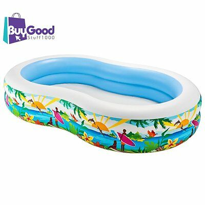 Outdoor Summer Baby Pool Swim Center inflatable Kids Fun Toddler Bday Gift