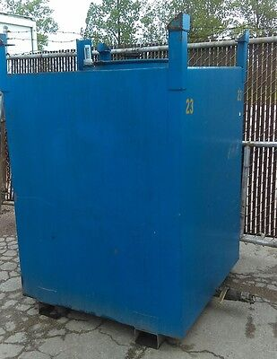 330 gallon stackable tote, tank container