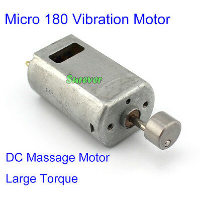 DC3V-6V Mini 180 Vibration Motor 18000RPM Large Torque Super Shocks for Massager