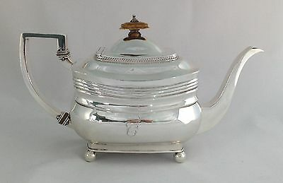 George III Silver Teapot Peter & William Bateman London 1809 Georgian Sterling