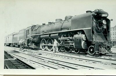 Railroad Photo Canadian National Steam 4-8-2  # 6011 New Westminster, Bc  1941