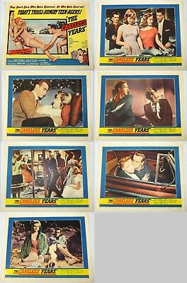 The Careless Years - Dean Stockwell - Seven Original American Lobby Cards