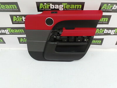 Range Rover Sport L405 L494 2013 - 2017 Door Card LHD Front Right Red Leather