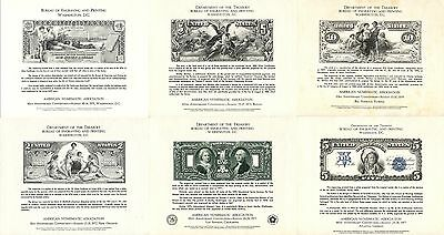 Bureau Engraving Printing American Numismatic Association US Dollars Collection