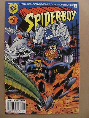 Spider-Boy #1 Amalgam Comics 1996 Marvel DC Spider-Man Superboy 9.4 Near Mint