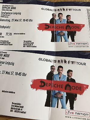 2 tickets depeche mode am in leipzig eur 66 00 picclick de. Black Bedroom Furniture Sets. Home Design Ideas