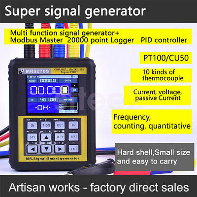 4-20mA Signal Generator Thermocouple Pressure Transmitter Logger PID Frequency