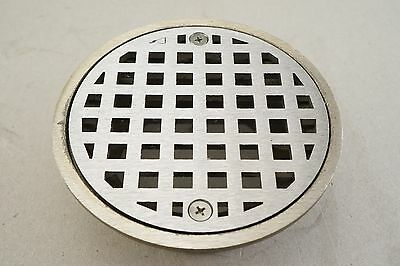 New JR SMITH A05NB Floor Drain Strainer Round 5In Dia STAINLESS STEEL SS Sh FREE