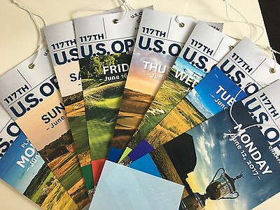 """2017 US Open tickets """" the whole week"""" Erin Hills"""