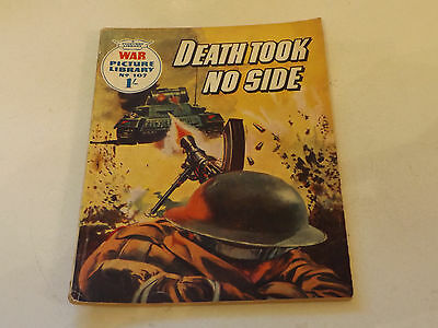 WAR PICTURE LIBRARY NO 107!,dated 1961!,GOOD for age,great 56!YEAR OLD issue.