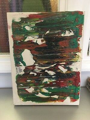 Samuel Whiteley Abstract Art Original Painting On Canvas Sheffield