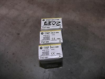 Allen-Bradley 1747-M1 Series A Memory Modules - Lot of 3 - New in Box