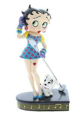 THE DANBURY MINT Betty Boop Betty Sings The Blues Figures 6.5""