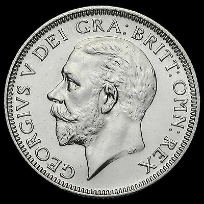 1927 George V Proof Silver Shilling #3