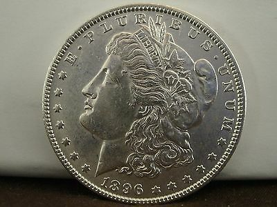 1896 $1 Morgan Silver Dollar   #1015