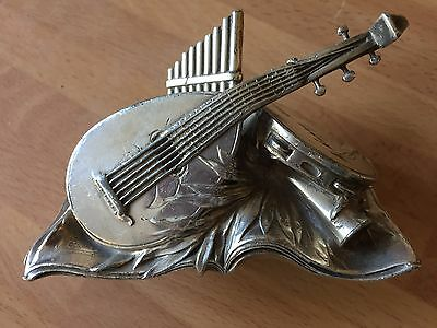 Art Nouveau WMF Musical Collection Ornament - Car Mascot? Silver Plated 1899
