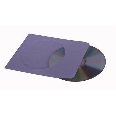 NEW GENERIC SLEEVE-PAPER CD PAPER SLEEVE SINGLE WITH WINDOW - (PACK OF 100).j.