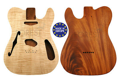 TELECASTER THINLINE 69s Body electric guitar Honduras Mahogany/ Flamed maple top