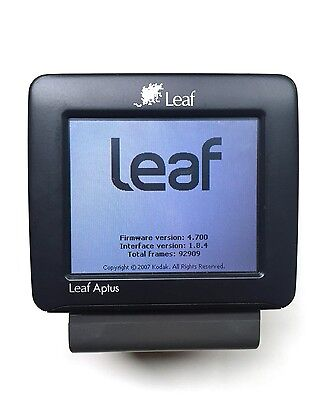 Leaf Aptus 54s Digital Back H-Mount  W/ Graflok plate for 4x5