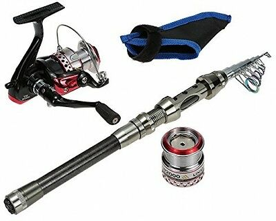 Docooler High-end Portable Hand Pole Sea Full Fishing Kit Set Carbon 2.1m Rod