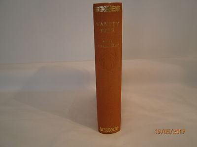 Vintage copy of Vanity Fair book by W.M. Thackeray. 1933 Publication